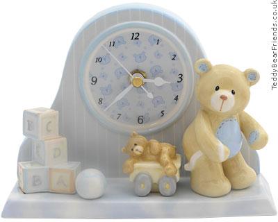 Baby Gund Bear Tales Clock for Boy