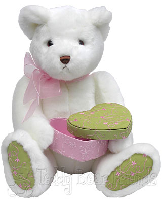 Gund White Bear Loves You