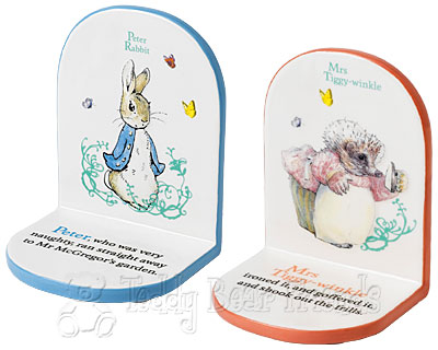 Border Fine Arts Beatrix Potter Book Ends