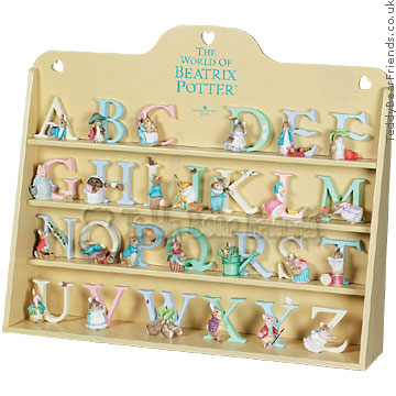 Border Fine Arts Beatrix Potter Display Case Letter Set