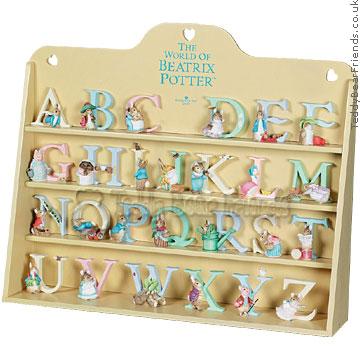 Border Fine Arts Beatrix Potter Display Case Letter Set