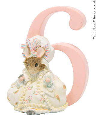 Border Fine Arts Beatrix Potter Lady Mouse Number 6