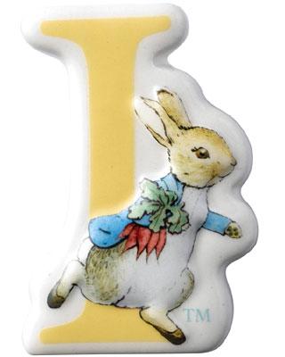 Border Fine Arts Beatrix Potter Peter Rabbit Letters I