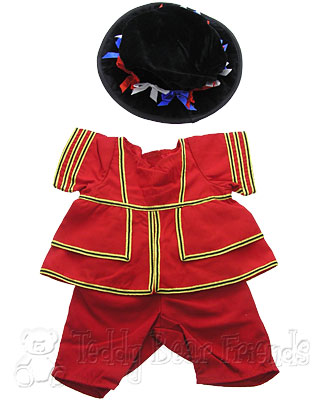 Teddy Bear Clothes Shop Beefeater Outfit For Teddy Bear