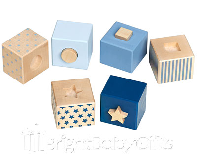 Bellybutton Bellybutton Blue Stacking Blocks
