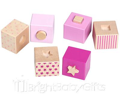 Bellybutton Bellybutton Pink Stacking Blocks