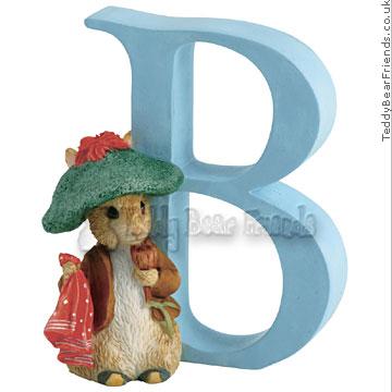 Border Fine Arts Benjamin Bunny Letter B