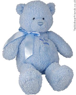 Baby Gund Big Blue Teddy Bear