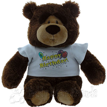 Teddy Bear Friends Exclusive Birthday Bear
