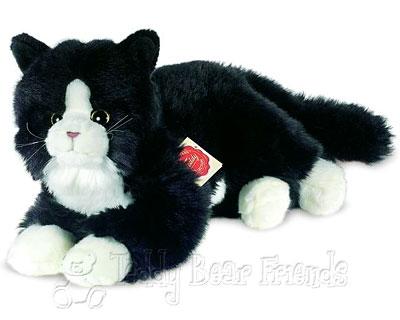 Teddy Hermann Black Cat