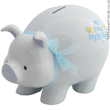 Baby Gund First Piggy Bank