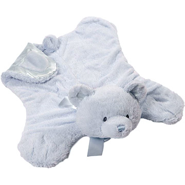 Baby Gund Blue Teddy Bear Comfy Cozy