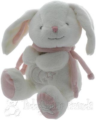 Doudou et Compagnie Bonbon Rabbit Baby Musical Nightlight