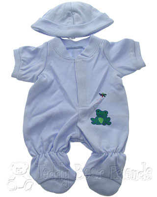 Teddy Bear Clothes Shop Boy Babygro For Teddy Bear