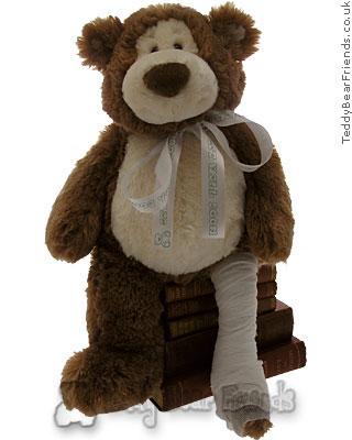 Teddy Bear Friends Exclusive Break a Leg Bear