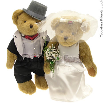 Character Bears Wedding Bears