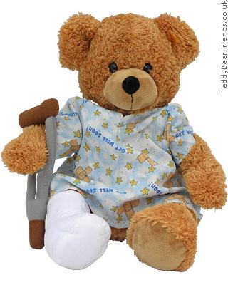 Steiff Broken Leg Bear