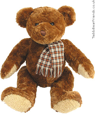 Teddy Hermann Brown Bear with scarf