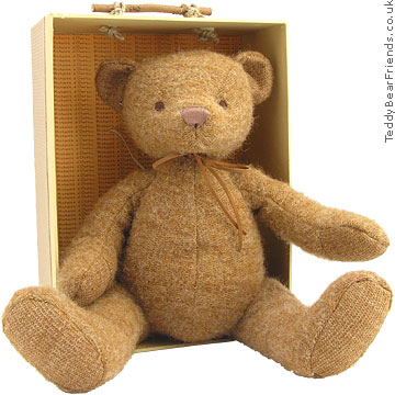 Histoire d'Ours Brown Mohair Bear