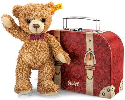 Steiff Carlo Teddy Bear in Suitcase