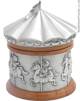 Royal Selangor Carousel Horses Music Box