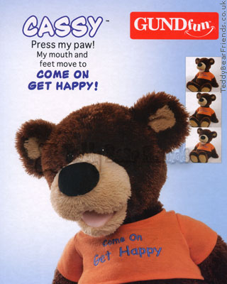 Gund Cassy Singing Bear