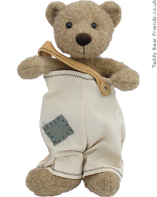 Egmont Teddy Bear in dungarees