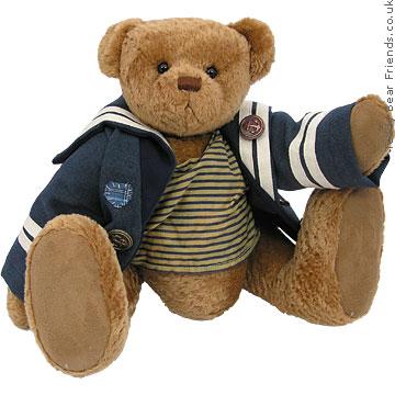 Charlie Bears Seb Sailor Bear