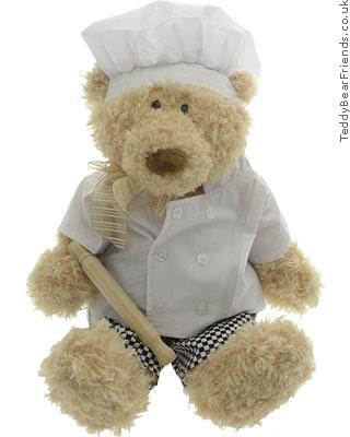 Teddy Bear Friends Chef Teddy Bear
