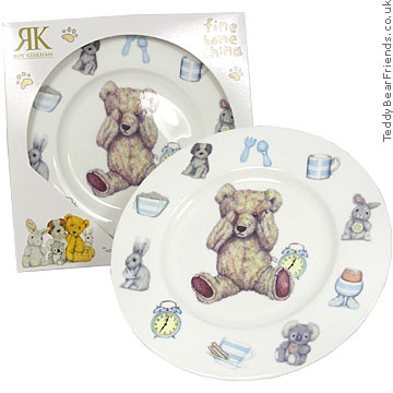 Roy Kirkham Teddy Time Childrens Plate