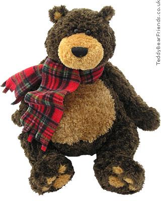 Gund Sampson Christmas Bear