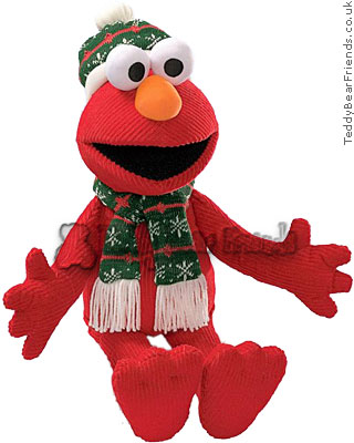 Gund Christmas Elmo