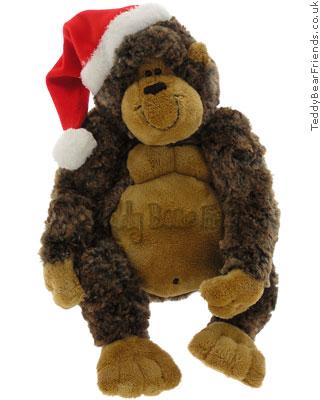 Gund Christmas Garstang Gorilla
