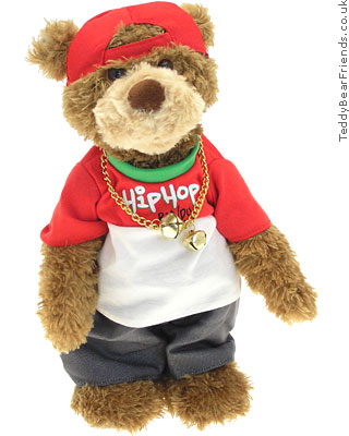 Gund Christmas Hip Hop Bear