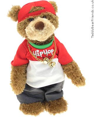 Gund Christmas Hip Hop Bear