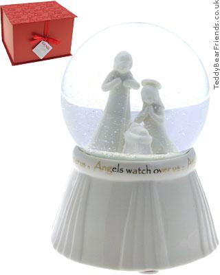 Gund Christmas Snow Globe
