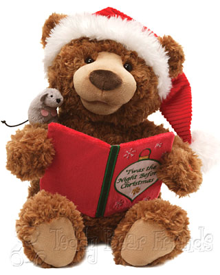 Gund Christmas Storytime Teddy Bear