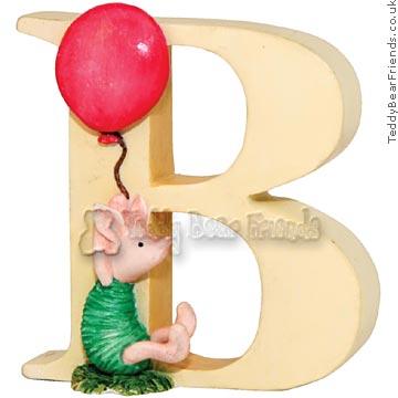 Border Fine Arts Classic Pooh Alphabet B