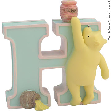 Pepperpot Classic Pooh Alphabet H