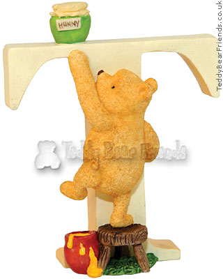 Border Fine Arts Classic Pooh Alphabet T