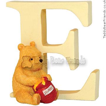 Border Fine Arts Classic Winnie the Pooh Alphabet Letter E