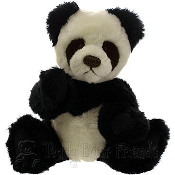 Clemens Spieltiere Panda Teddy Bear Jolene