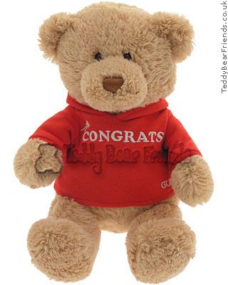 Gund Congrats Message Bear