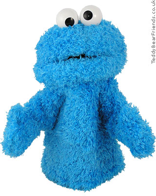 Gund Cookie Monster Hand Puppet