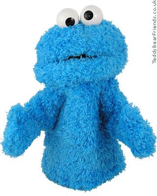 Gund Cookie Monster Hand Puppet