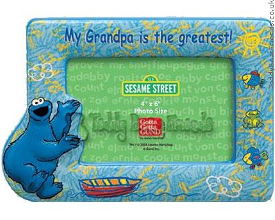 Gund Cookie Monster Photo Frame