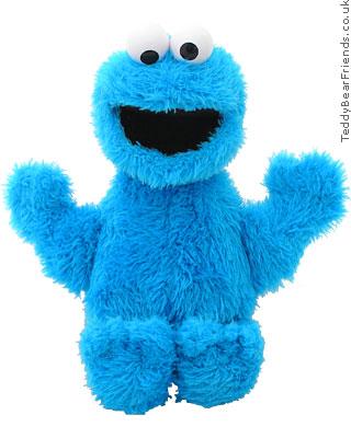 Cookie Monster Gund Teddy Bear Friends