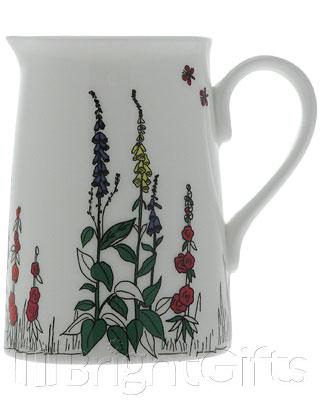 Roy Kirkham Cottage Garden Milk Jug