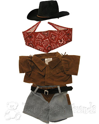 Teddy Bear Clothes Shop Cowboy Outfit For Teddy Bear