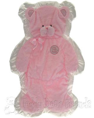 Baby Gund Cuddlehugs Pink Blanket